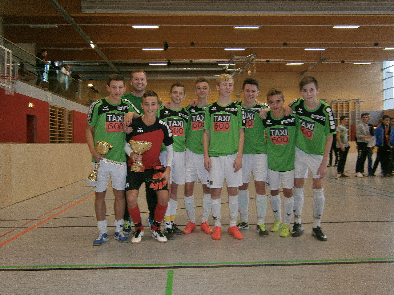 1.Platz SV Traun 1 Speed Hallen Cup 2014