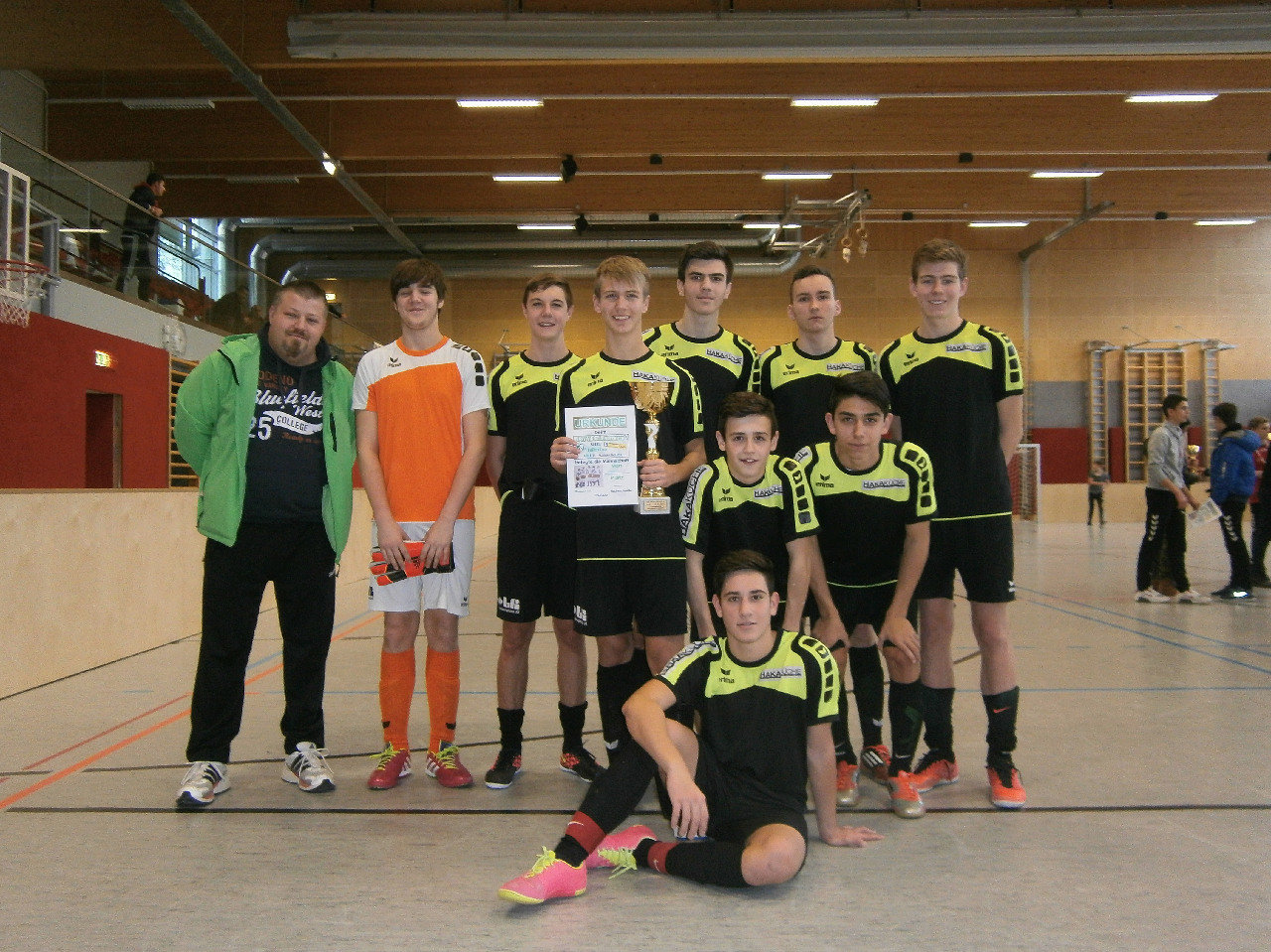 2.Platz SV Traun 2 Speed Hallen Cup 2014