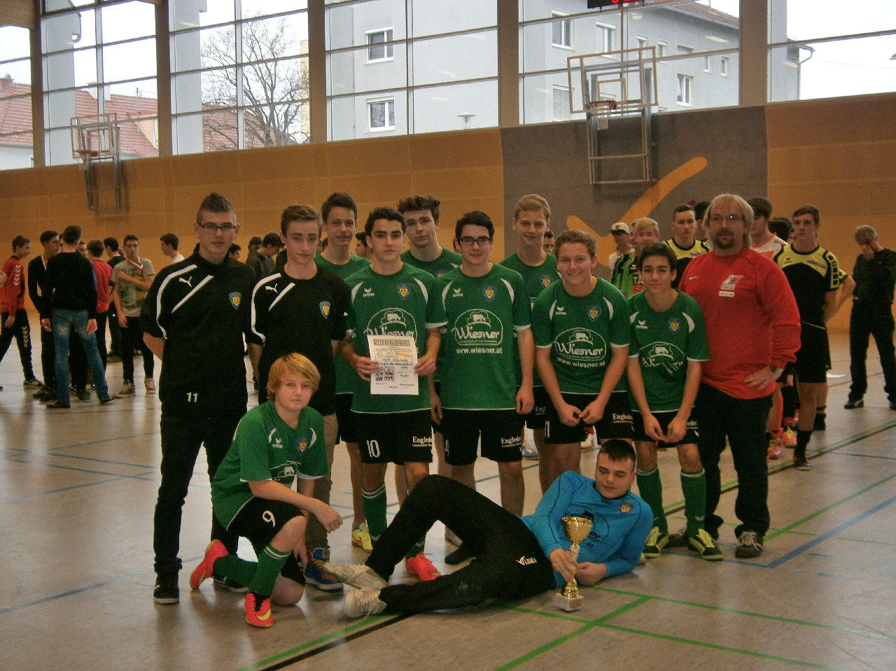 3.Platz Union Buchkirchern Speed Hallen Cup 2014