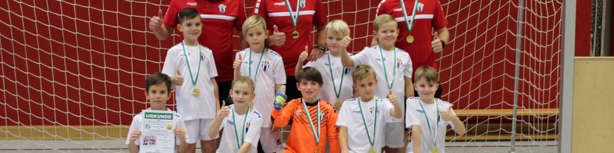 Tecnofutbol Austria gewinnt U 9 Hallenturnier !!!