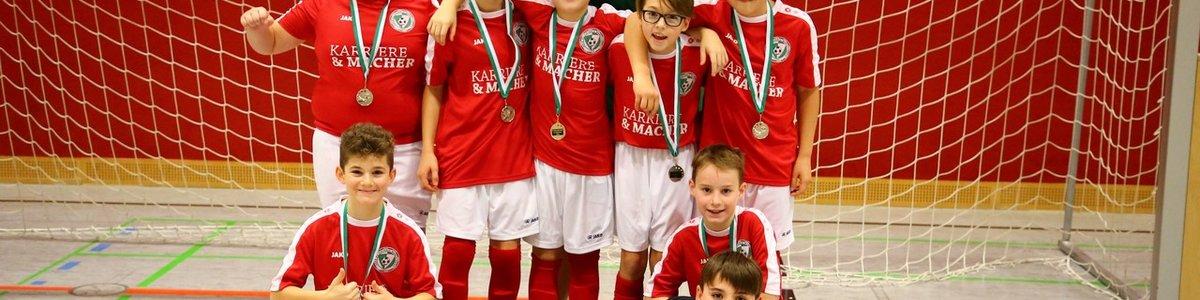 Das sind die Sieger der zweiten Hallenturnierserie des SV Viktoria !!!