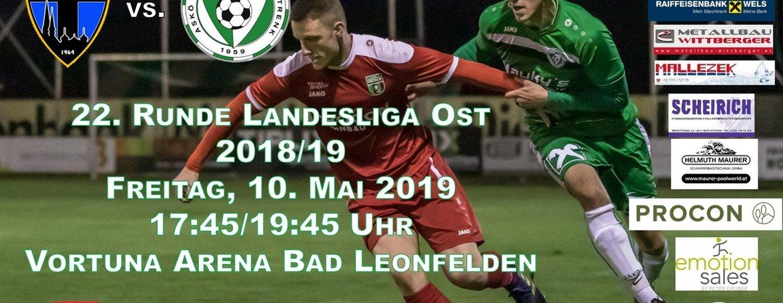 Vorschau auf das KM-Auswärtsspiel gegen SU Bad Leonfelden!!!