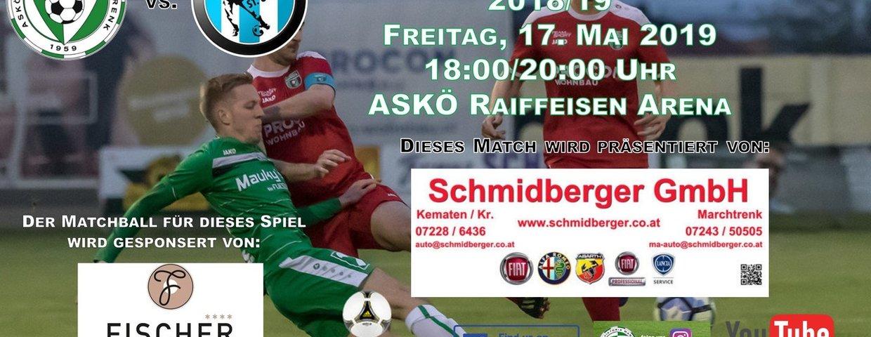 Vorschau auf das Heimspiel gegen USV St. Ulrich !!!
