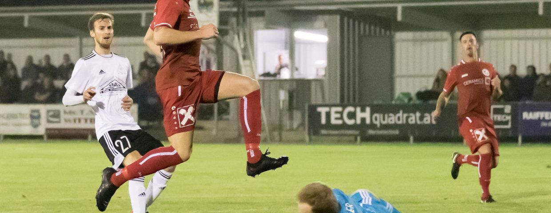 Verdienter Sieg im letzten Match im Herbst gegen Schwertberg !!!
