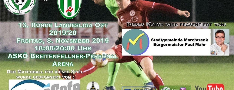 Vorschau auf das letzte Match im Herbst gegen Schwertberg !!!