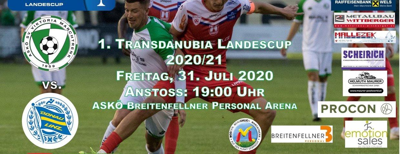 Erstes Pflichtspiel im Transdanubia Landescup !!!
