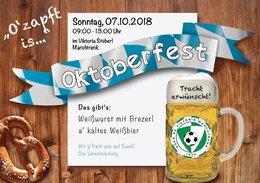 Oktoberfest Frühschoppen im Viktoria Stüberl !!!